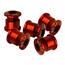 NC-17 ruuvisetti rattaille 4 en 5-gaats , punainen